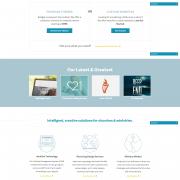 3 created custom Website Design Example 2
