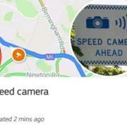 Google Maps Speed Camera Update